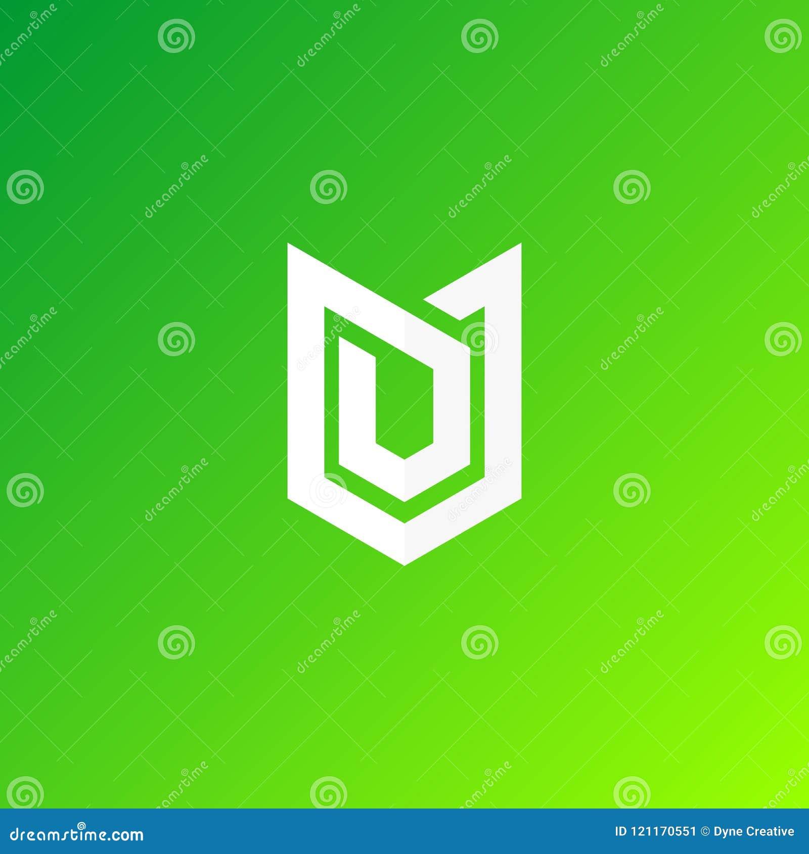 Shiled security logo design vector