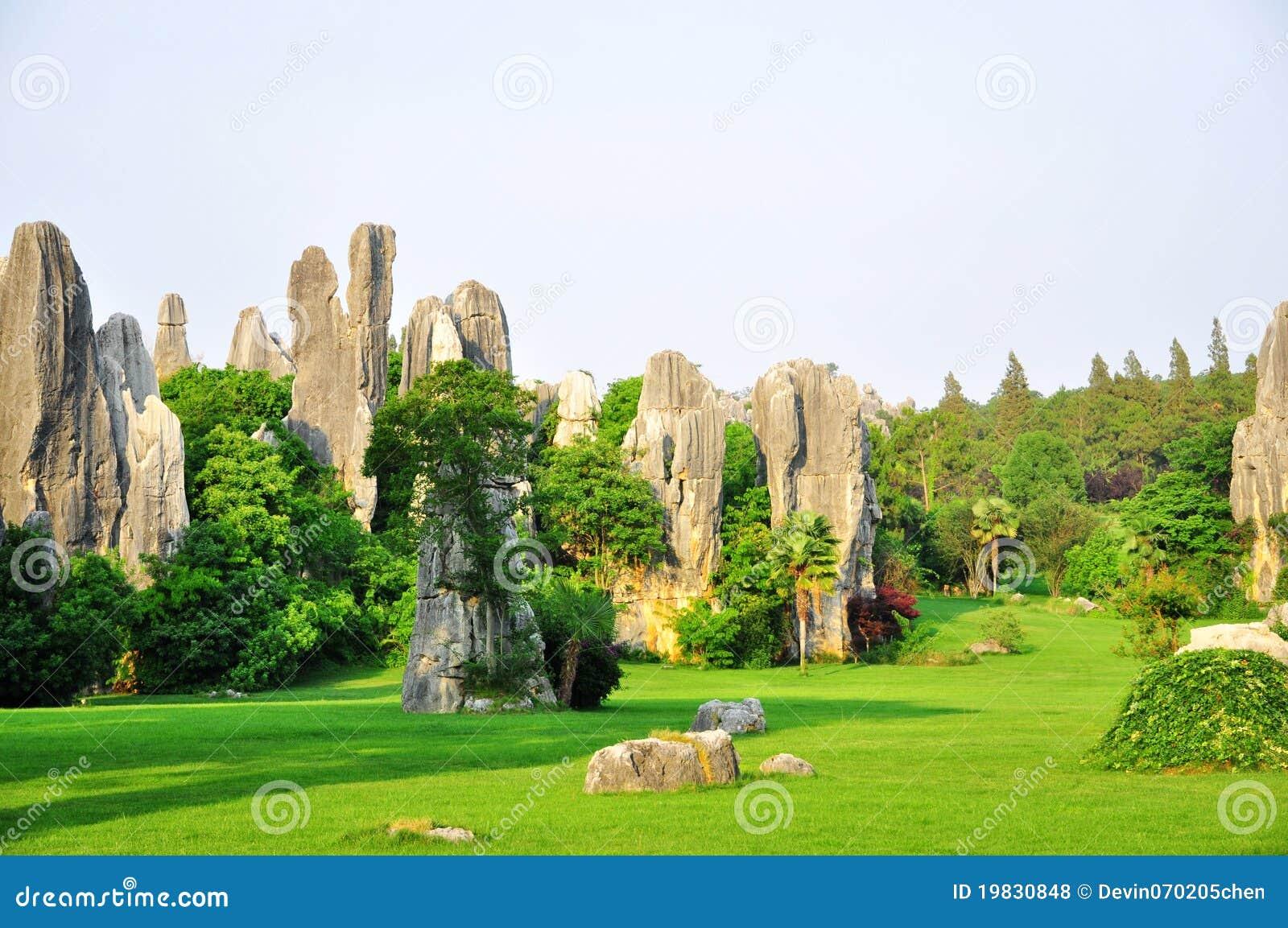 Shilin lasowy kamień