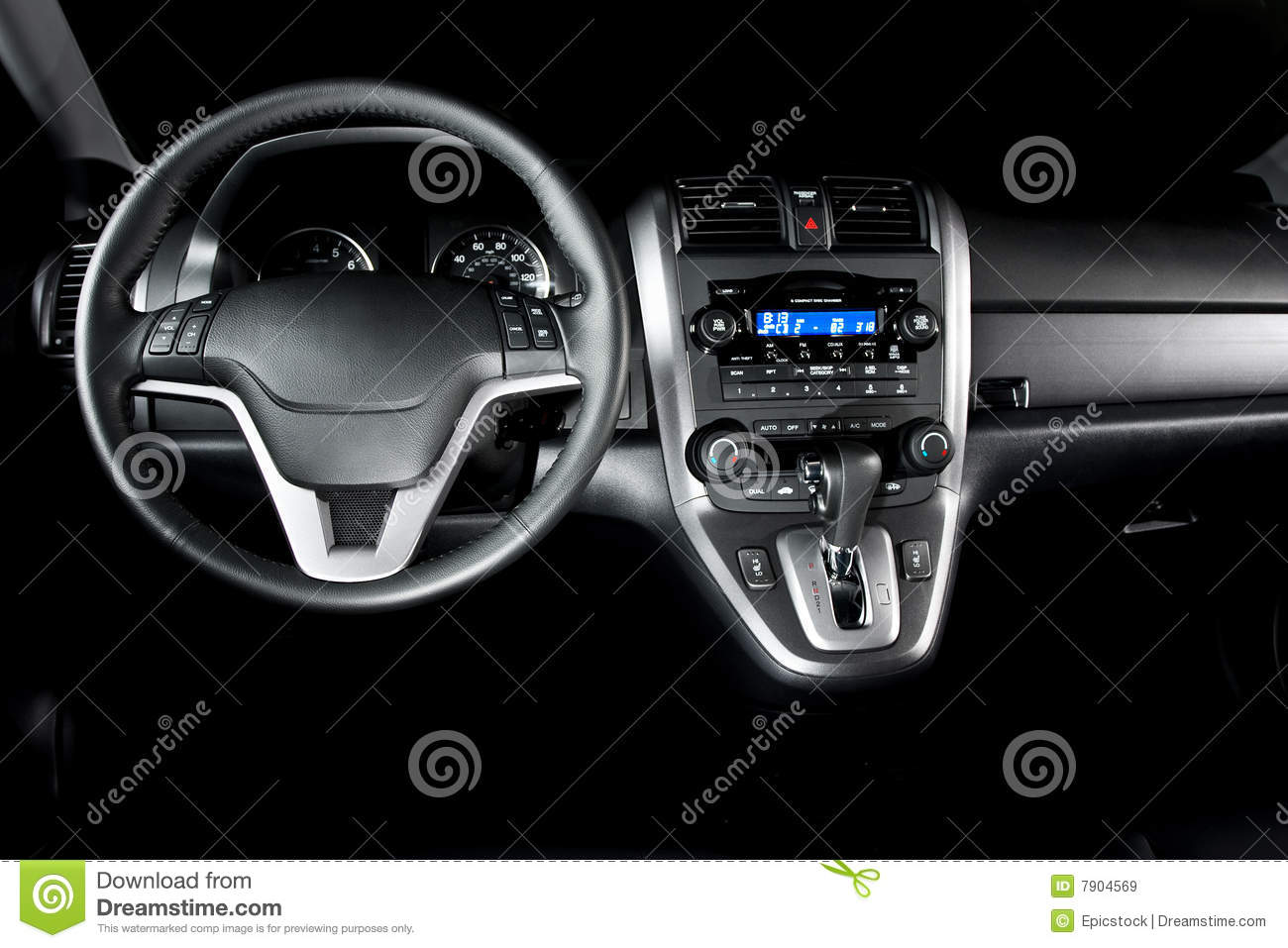 Shiney New Car Interior Stock Image Image Of Infinity 7904569