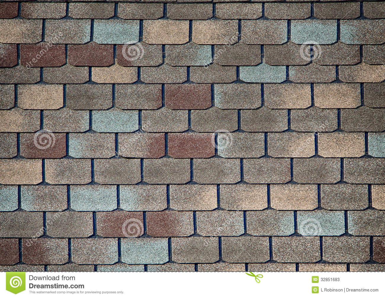 Shingle Roofing Stock Image Image Of Brown Design