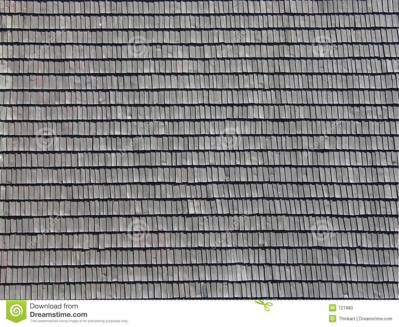 Shingled Roof Pattern Stock Photo Image Of Background