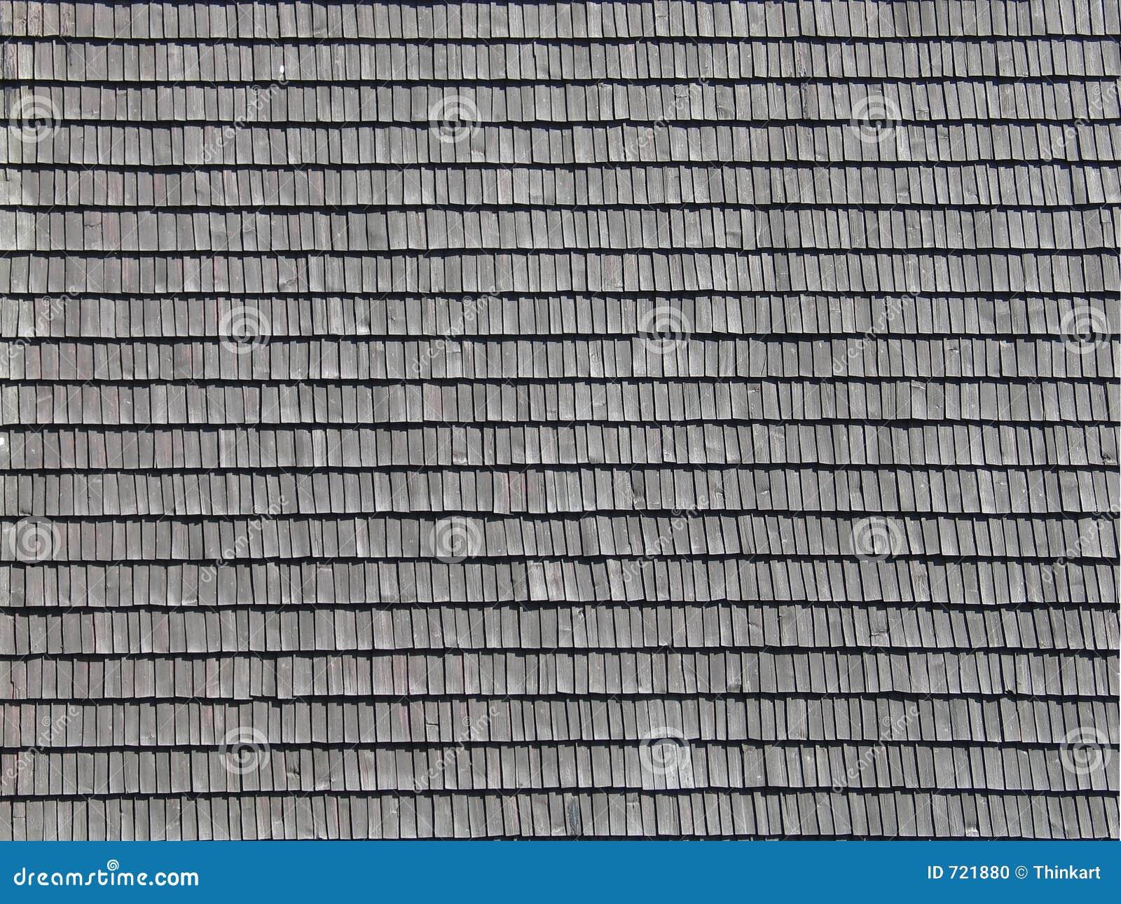 Shingled Roof Pattern Stock Photo Image 721880