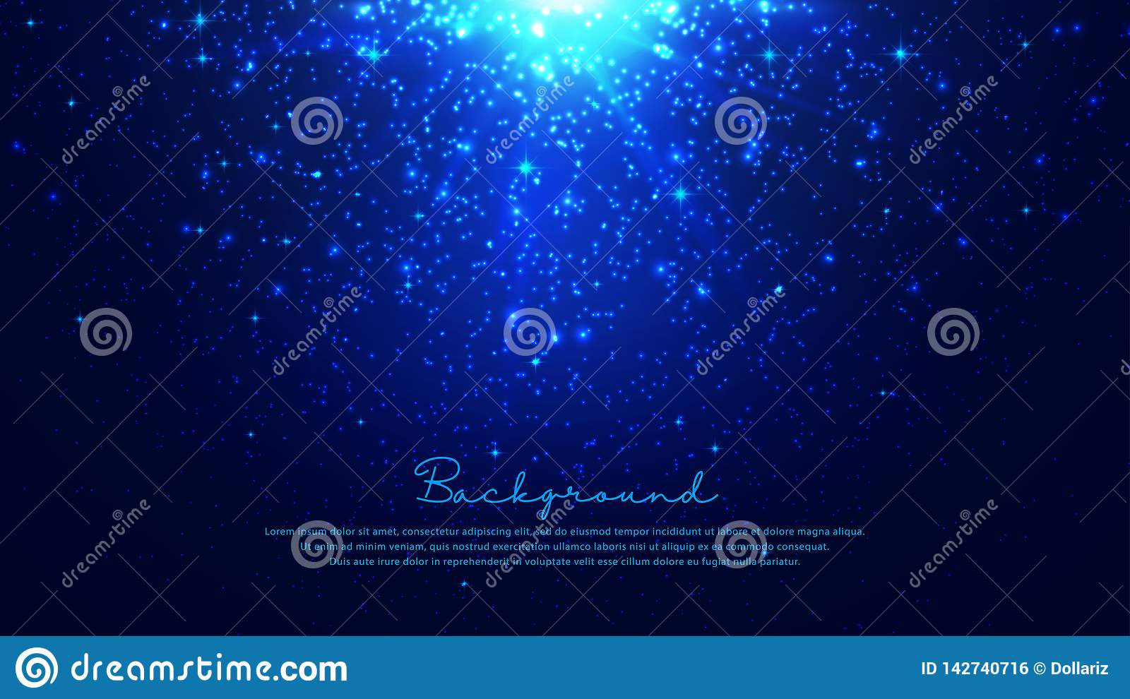 Shining abstract particles background. Dynamic particle explosions background from the arrangement of millions of luminous
