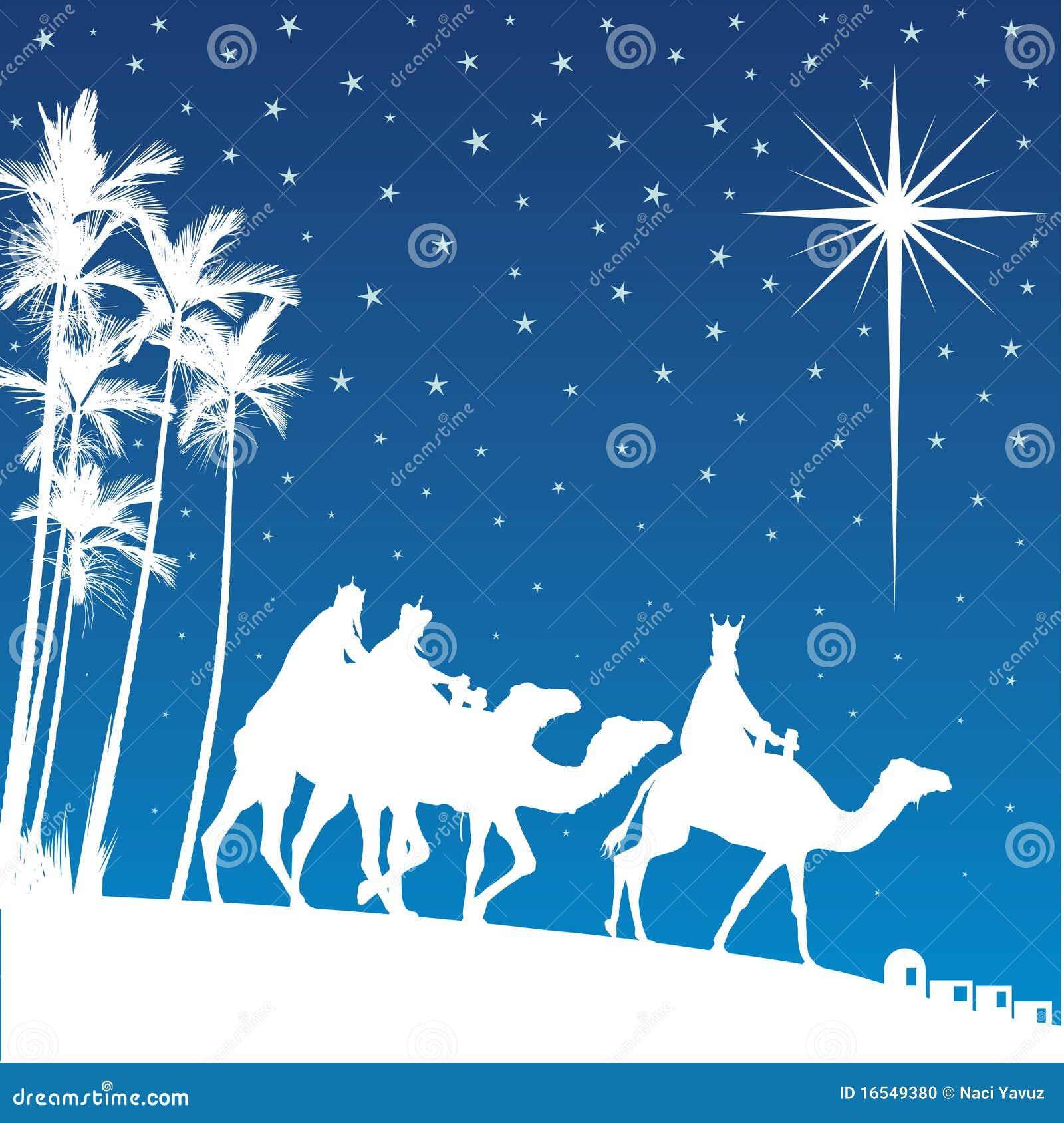 Shining Star Of Bethlehem. Stock Photo - Image: 16549380