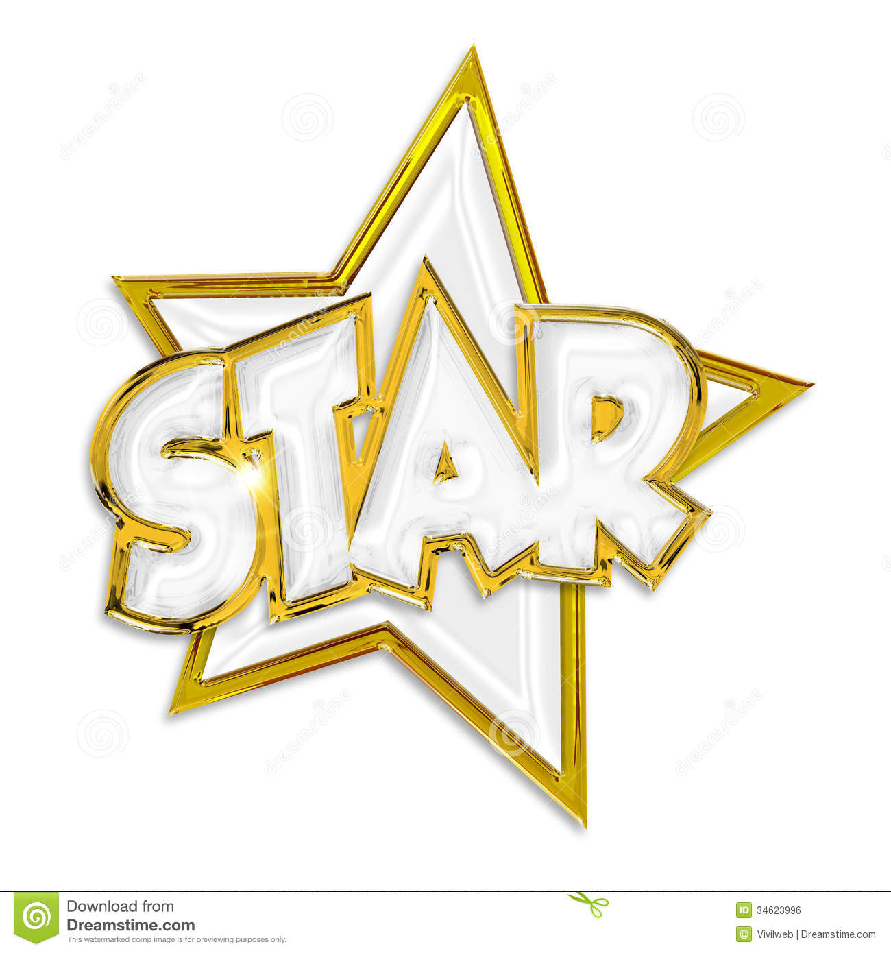 Shining Star Royalty Free Stock Image - Image: 34623996