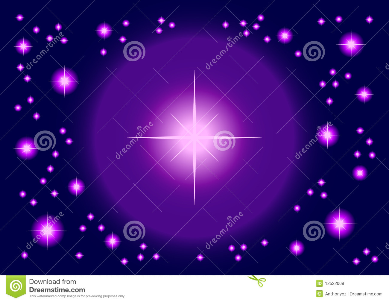 Shining Stars Royalty Free Stock Photos - Image: 12522008