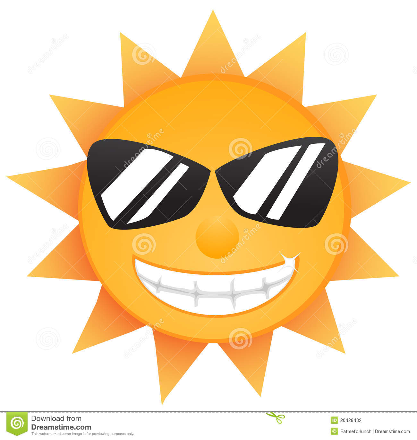 Shining Sun Stock Photography - Image: 20428432