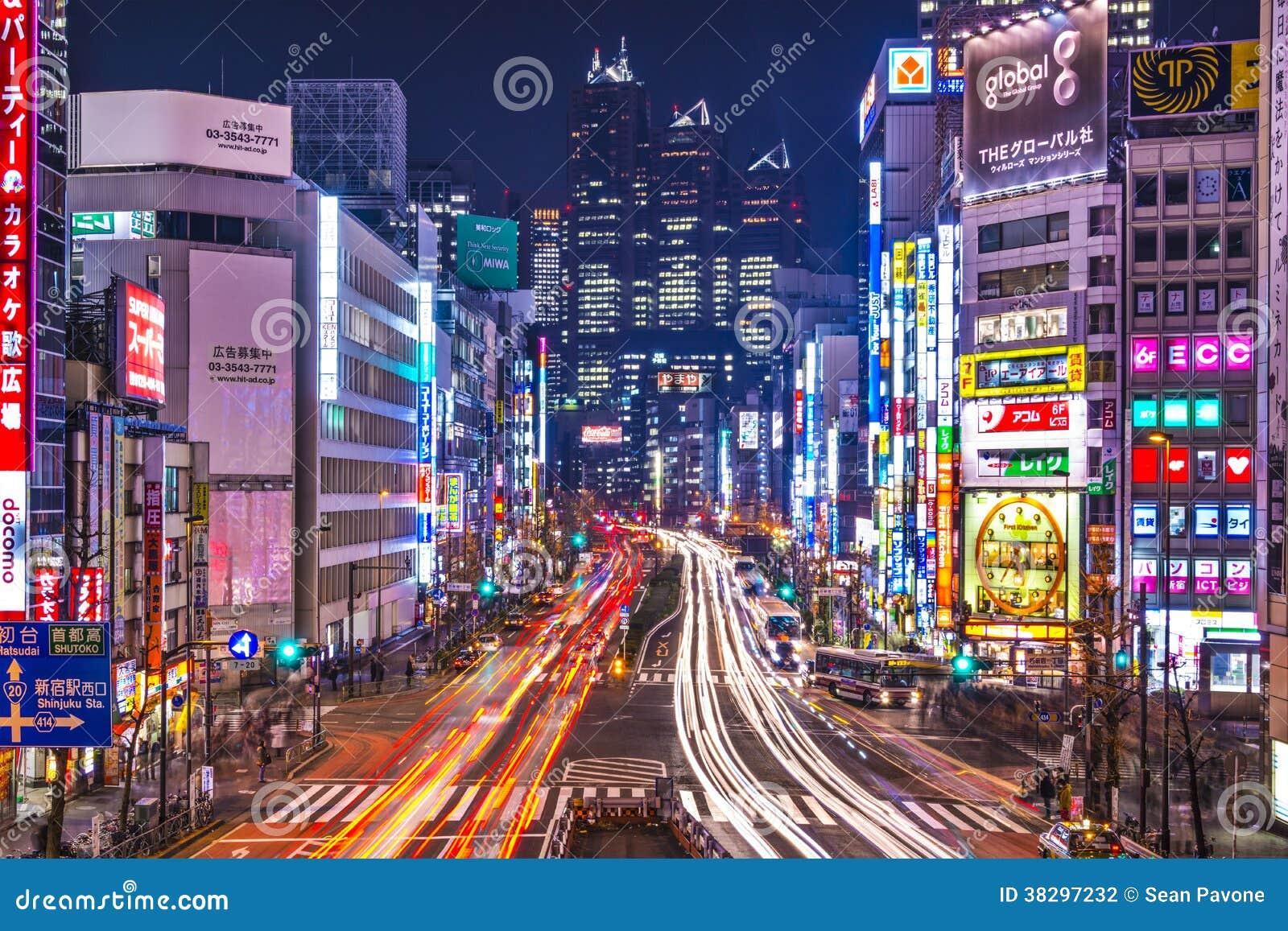 Shinjuku, Τόκιο