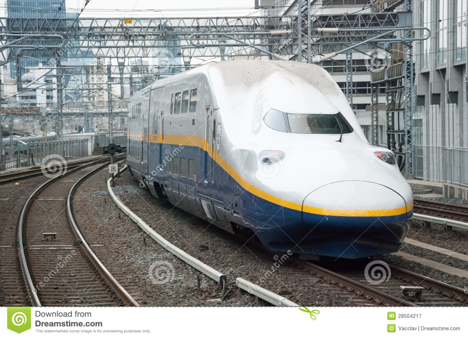 Bullet train stock image. Image of fast, japan, rail 22293385.