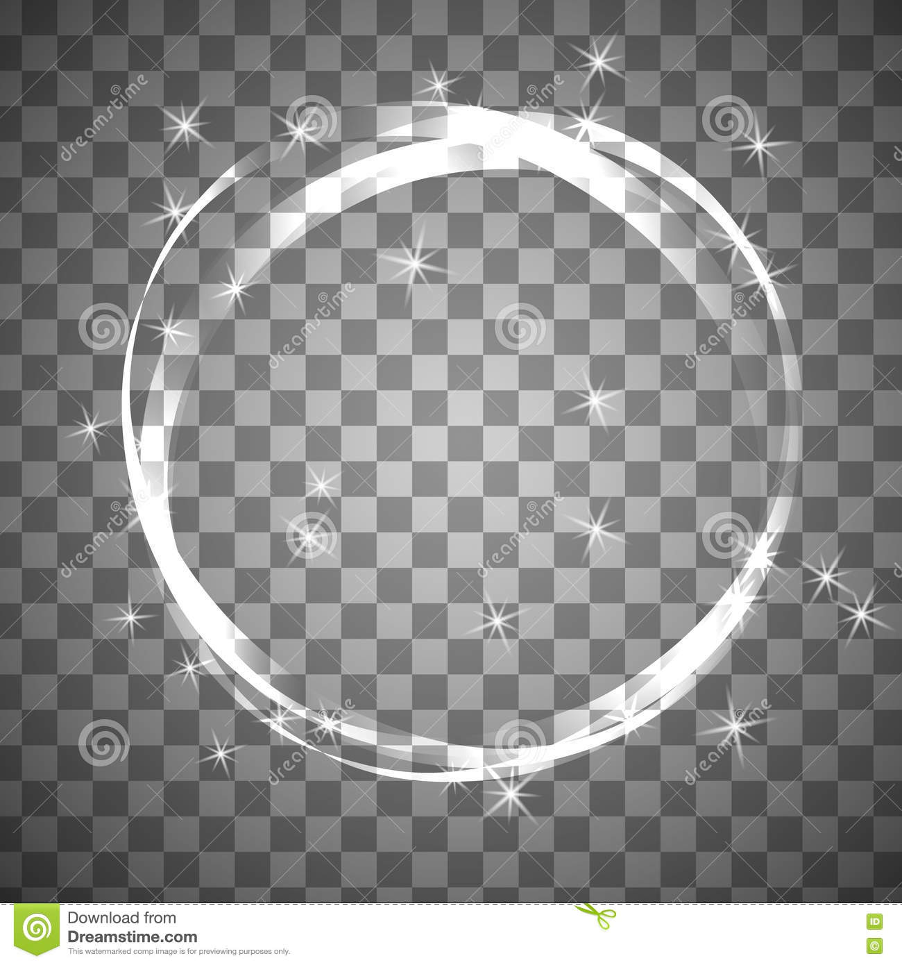 how to draw a transparent circle in photoshop