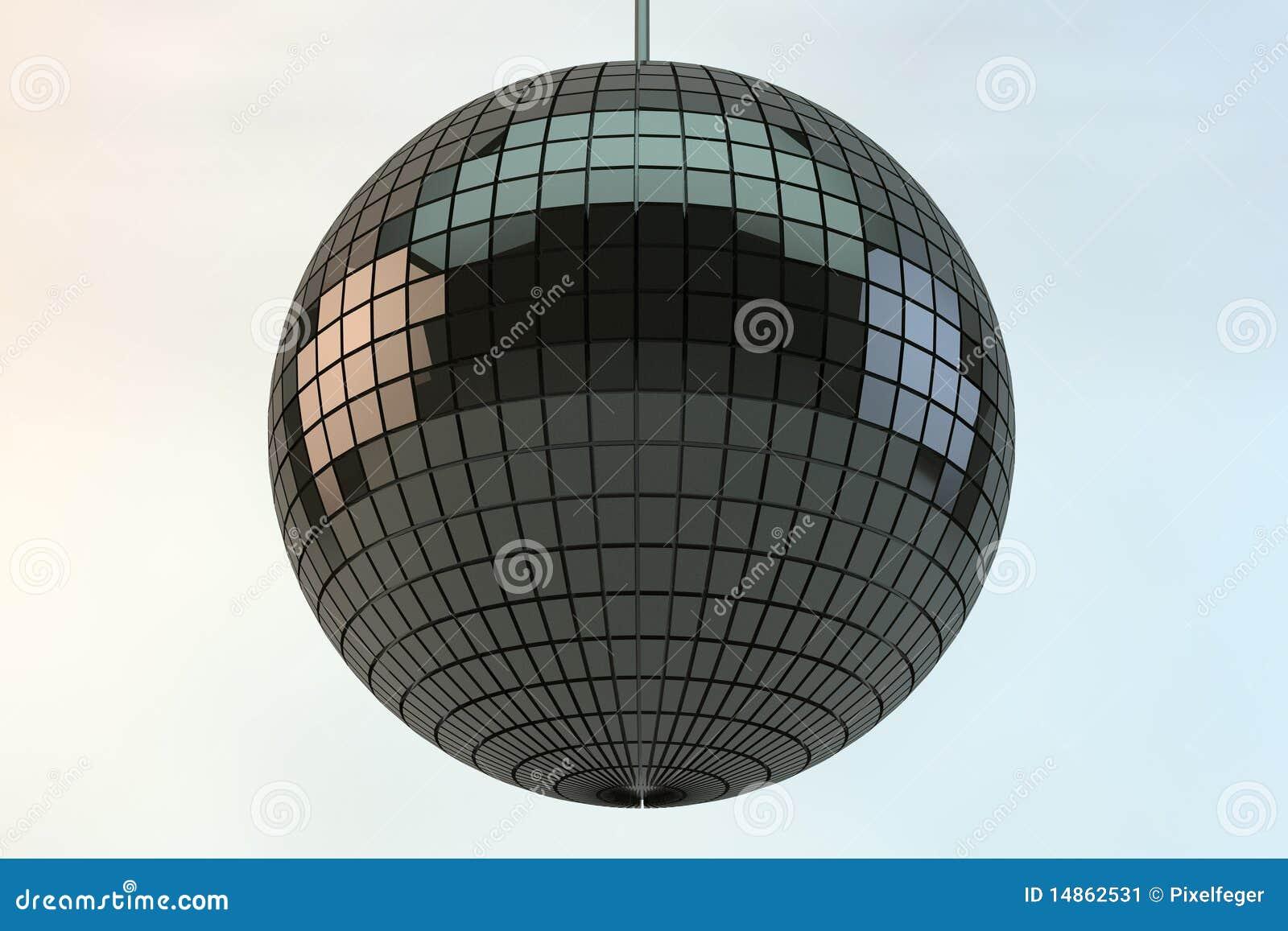 Shiny disco ball
