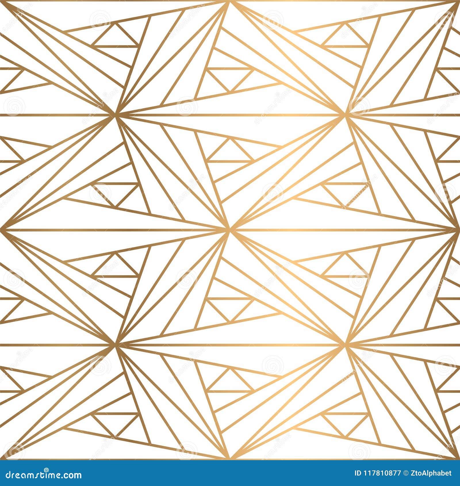 Shiny Geometric Shapes Pattern Stock Vector Illustration