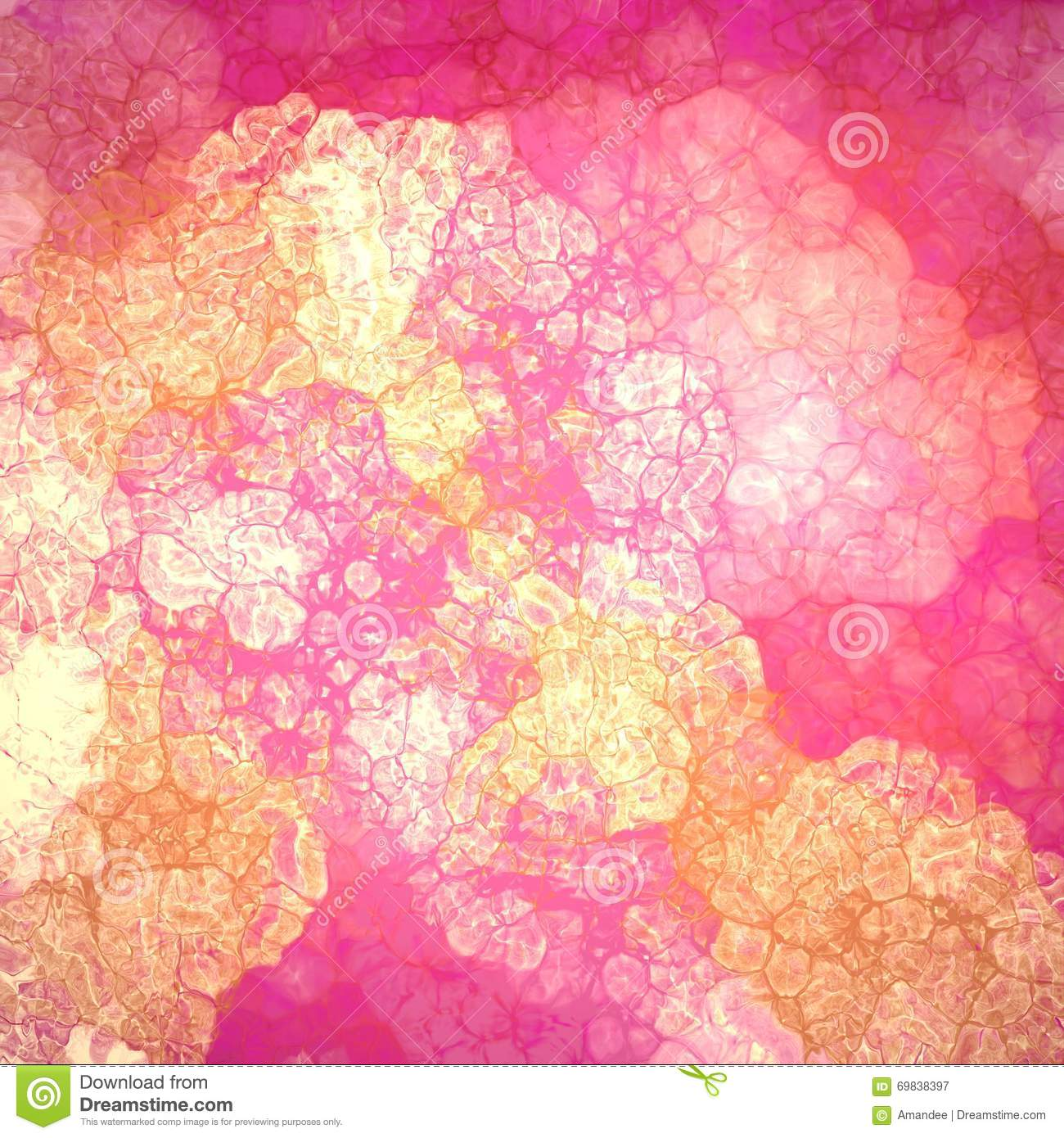 Shiny Gold And Pink Abstract Background Pattern With Glass ...
