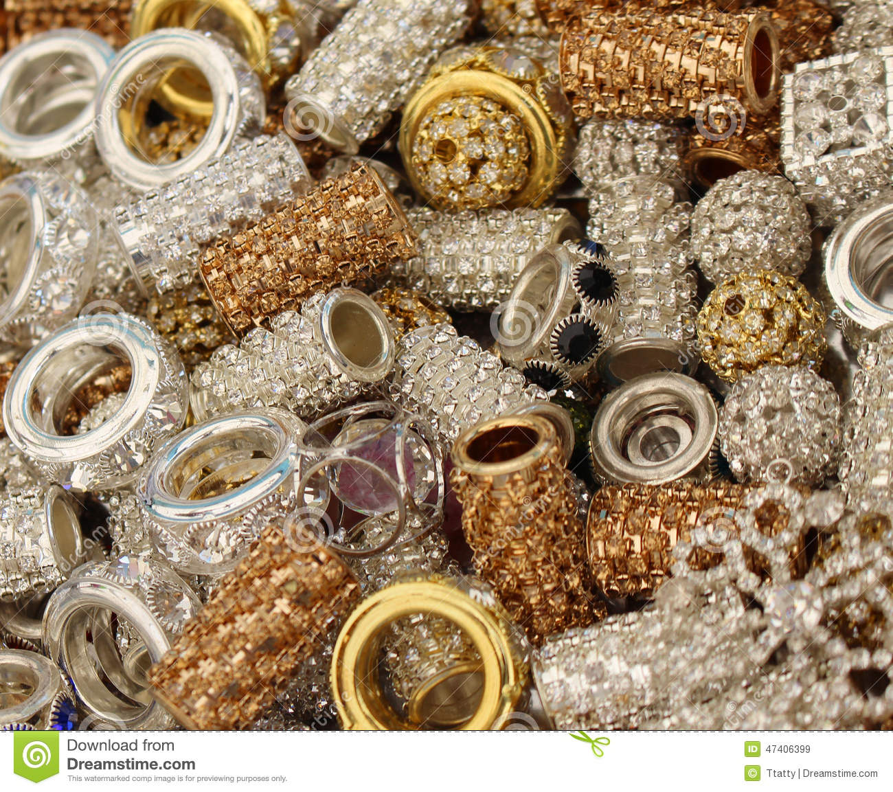 shiny jewelry stock photo image 47406399