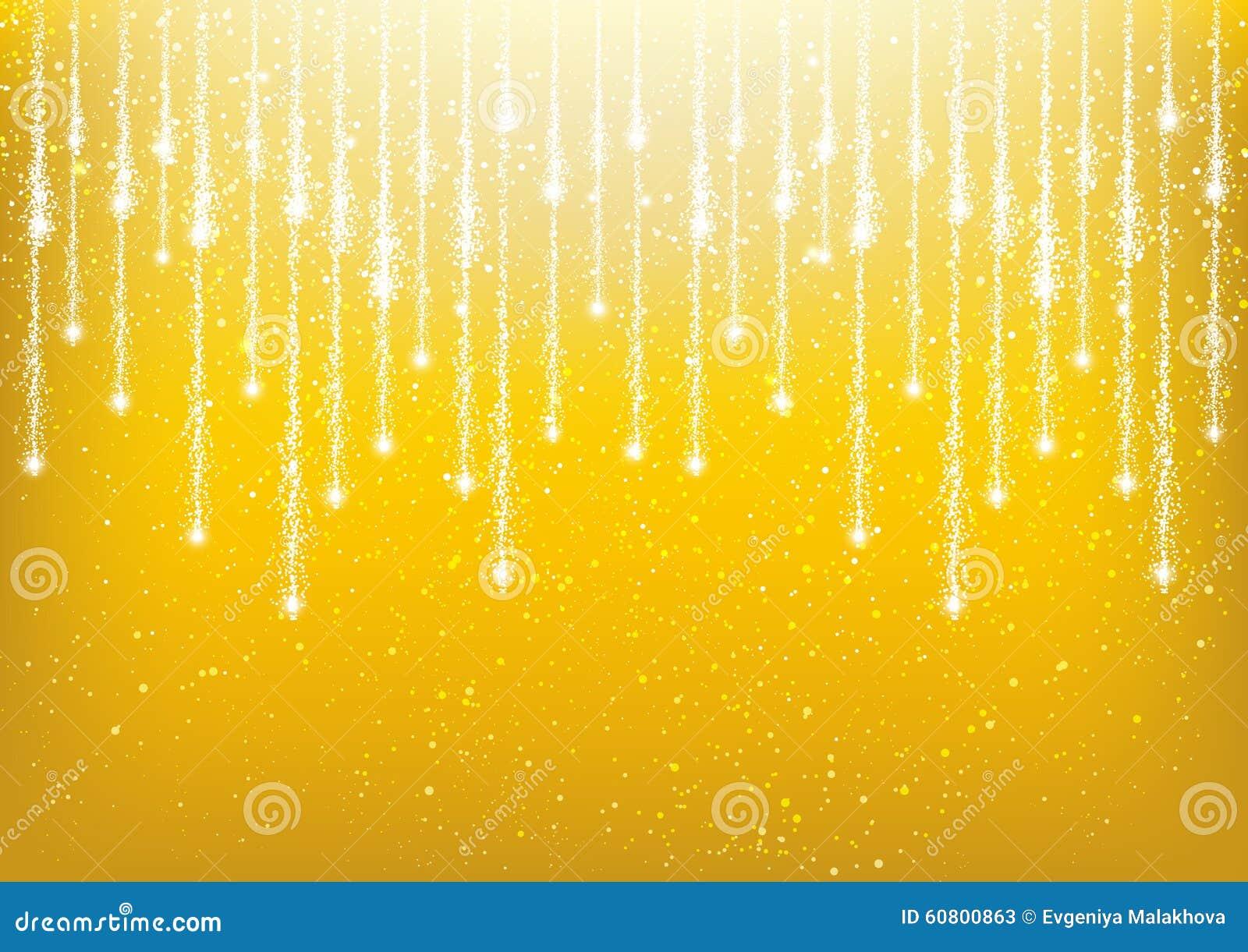 shiny golden lights stock - photo #25