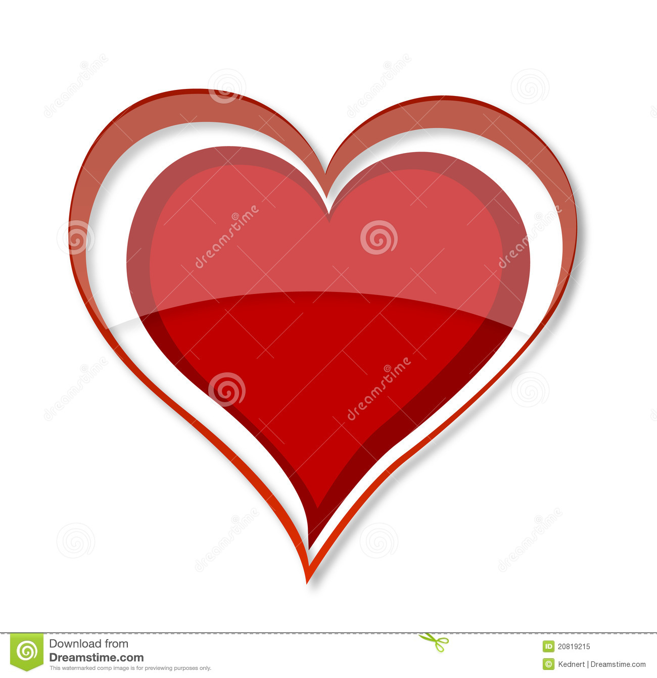 Shiny love heart symbol red color stock image image of swirl shiny love heart symbol red color biocorpaavc Gallery