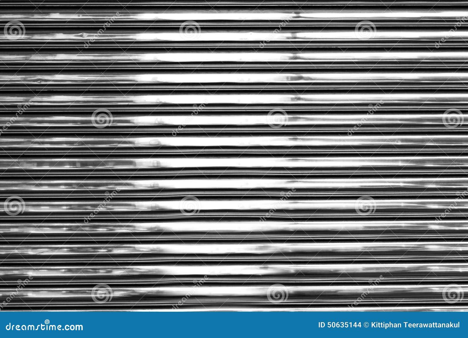 Shiny Metal Wall Stock Photo Image Of Wall Material