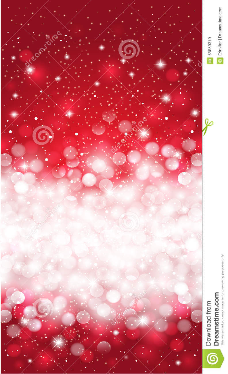 Shiny Red Winter Christmas Invitation Snowflake Background Design ...