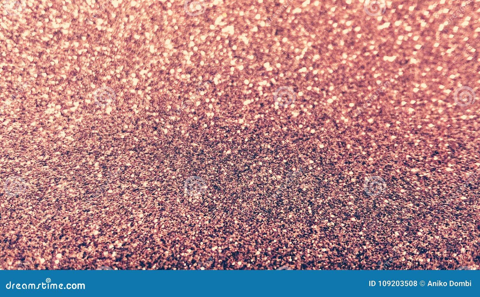 Rose glitter detail