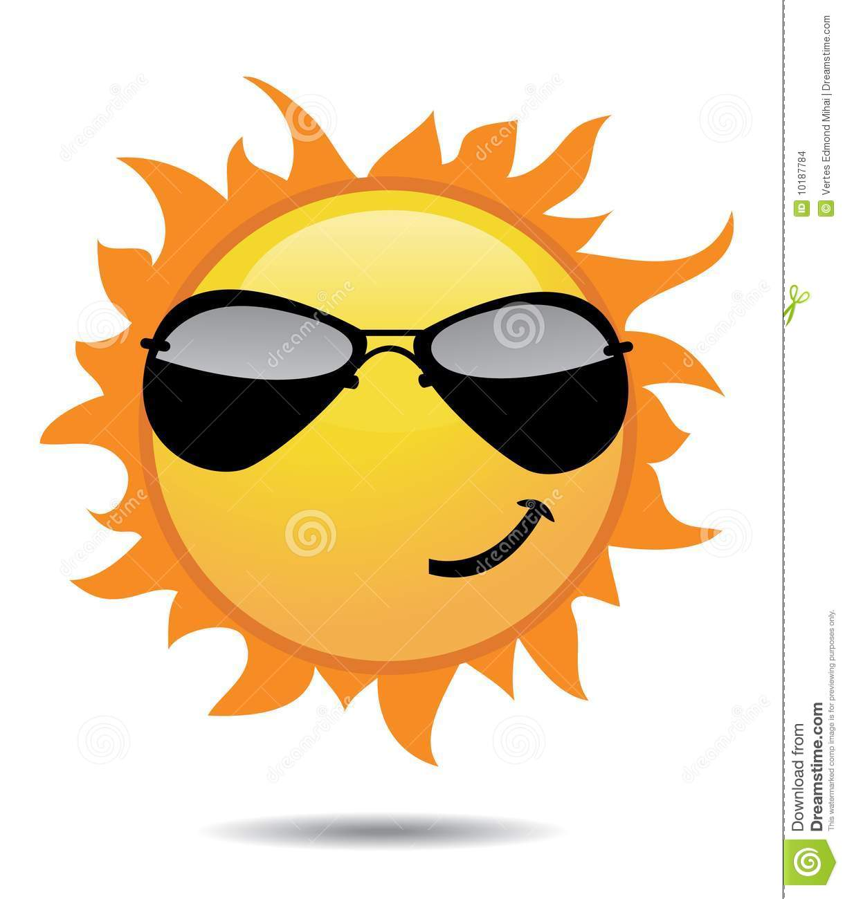 Shiny Sun Icons Stock Images - Image: 10187784