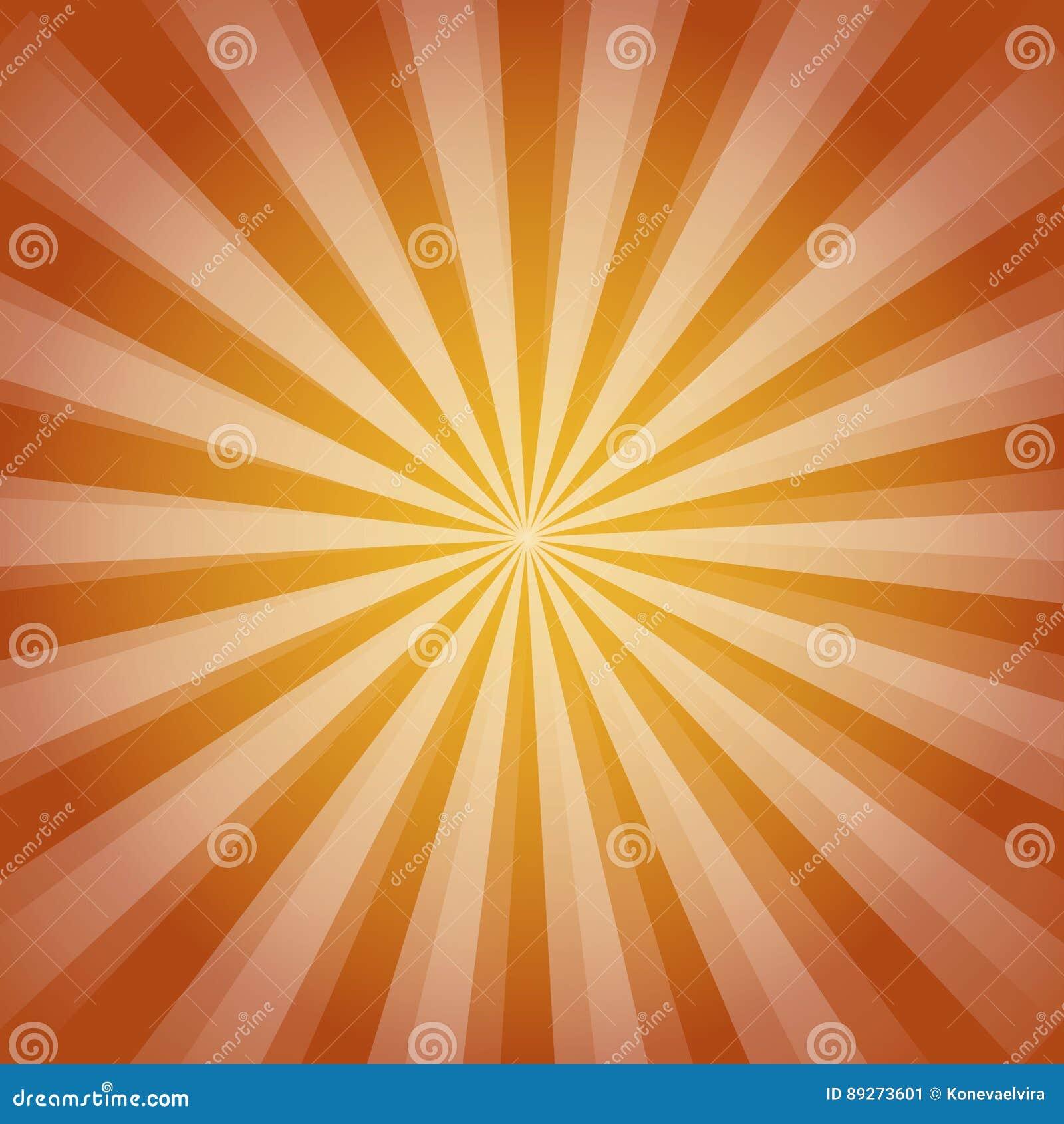95087112d96 Shiny Sun Ray Background. Sun Sunburst Pattern. Orange Rays Summer ...