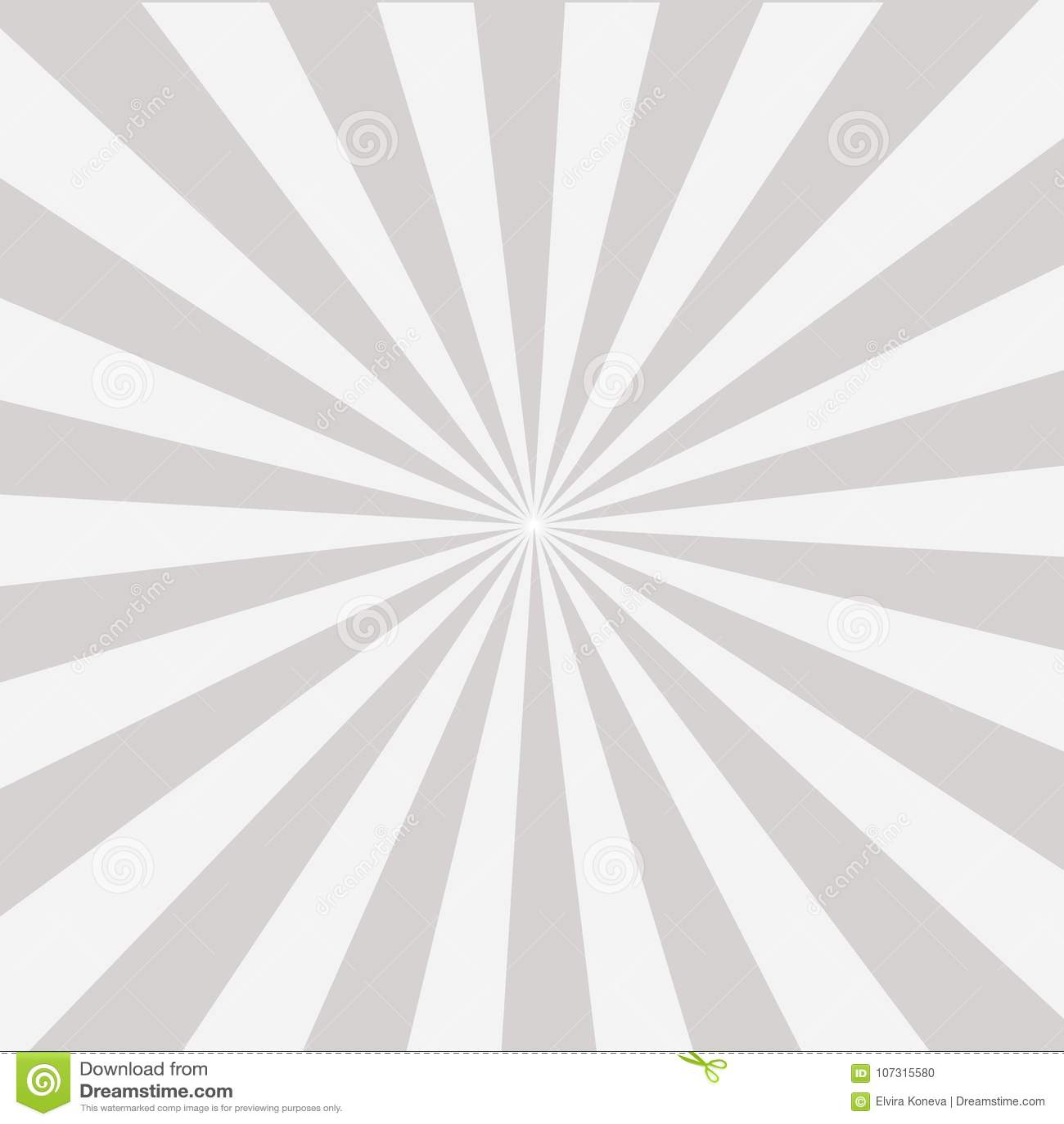 be34c9c94df Shiny Sun Ray Background. Sun Sunburst Pattern. Grey Rays Summer ...