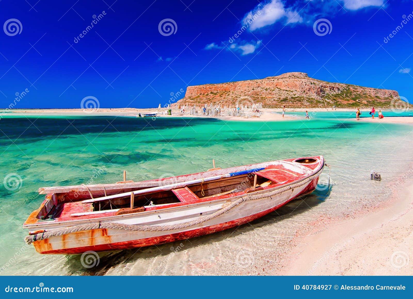 how to get to balos beach crete