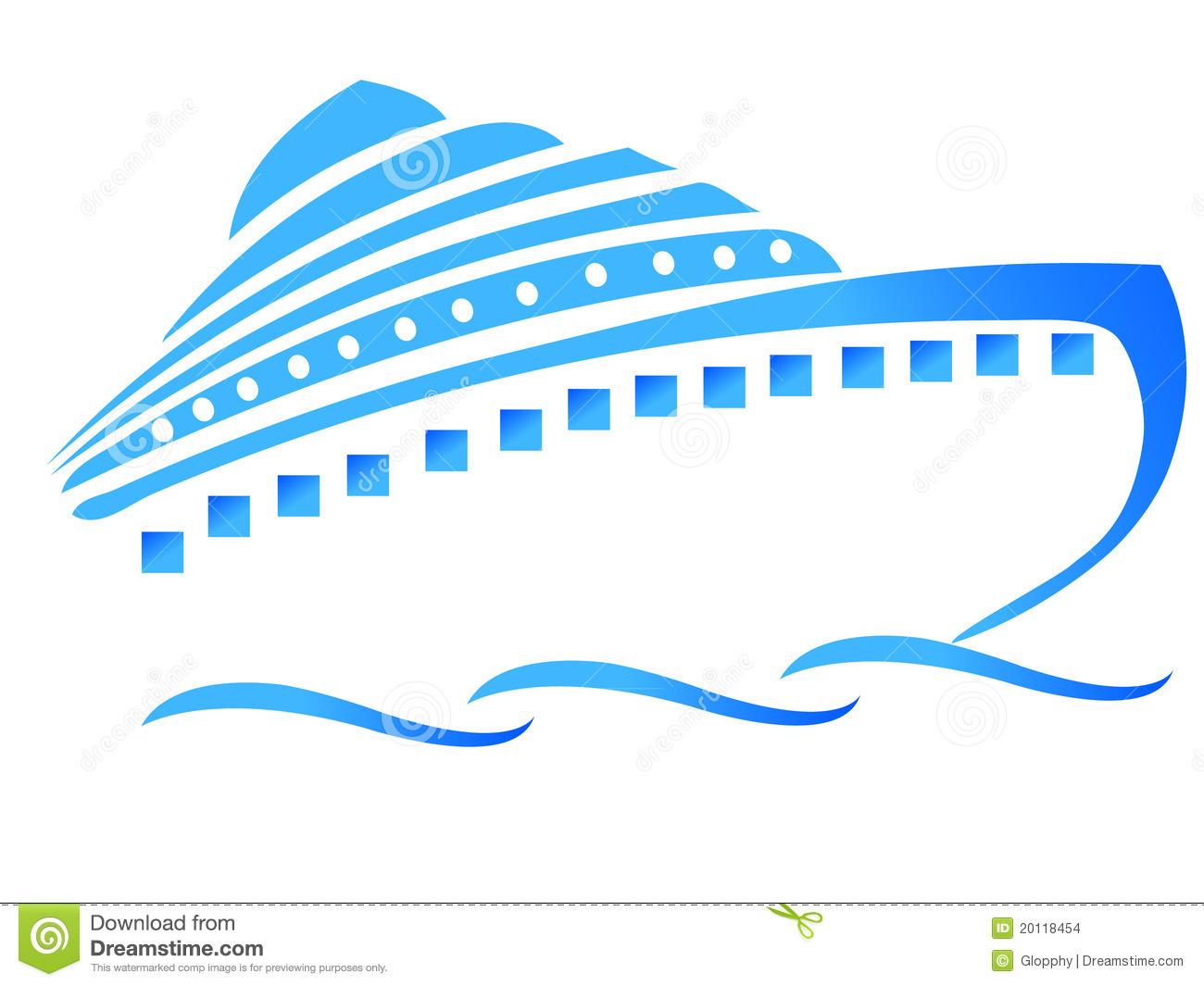 Ship Or Blue Cruiser Stock Images Image 20118454