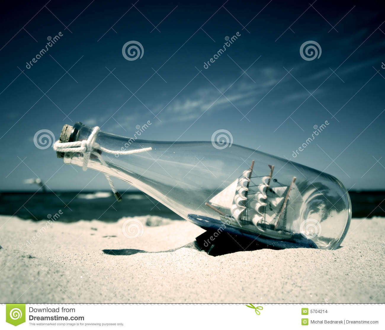 Ship in the bottle
