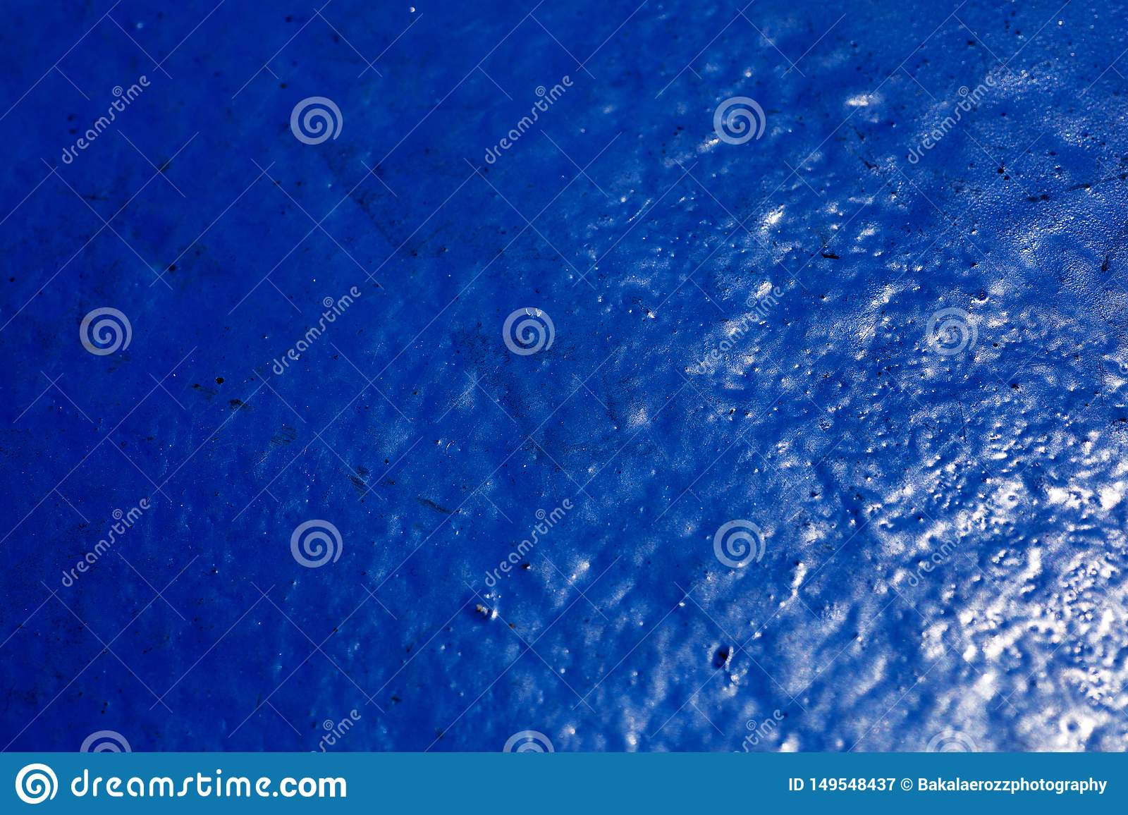Ship deck with blue color abstract Dandelion macro background fine art in high quality prints products 50,6 Megapixels