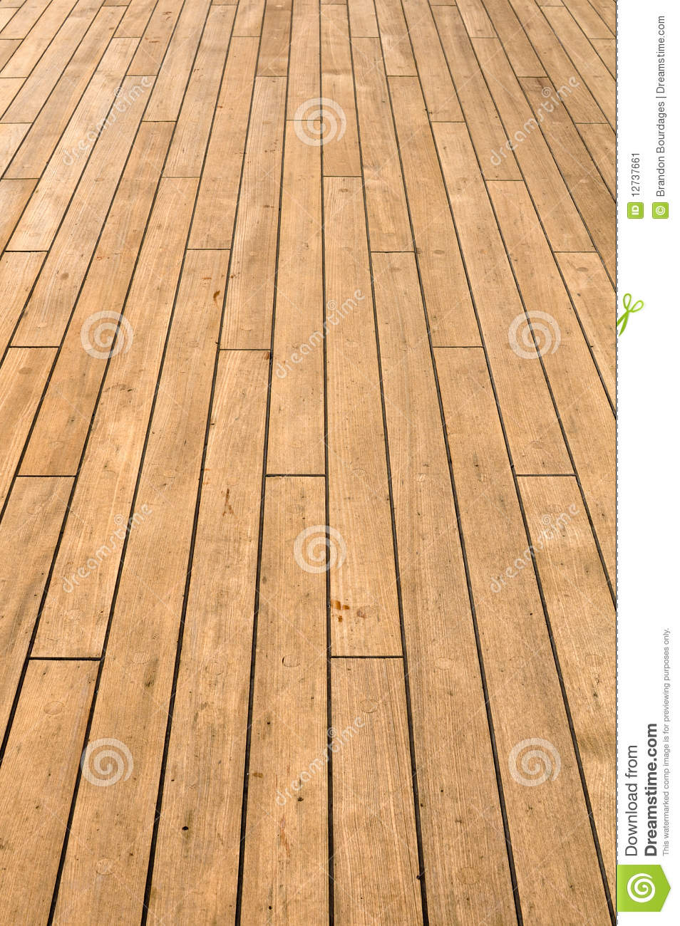 Ship Deck used for Background