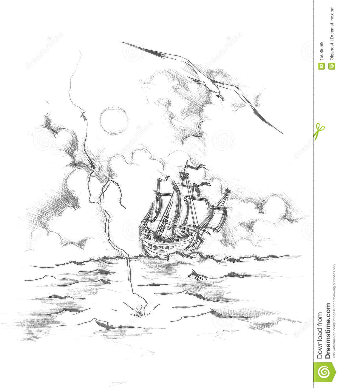 The ship drawing(2)