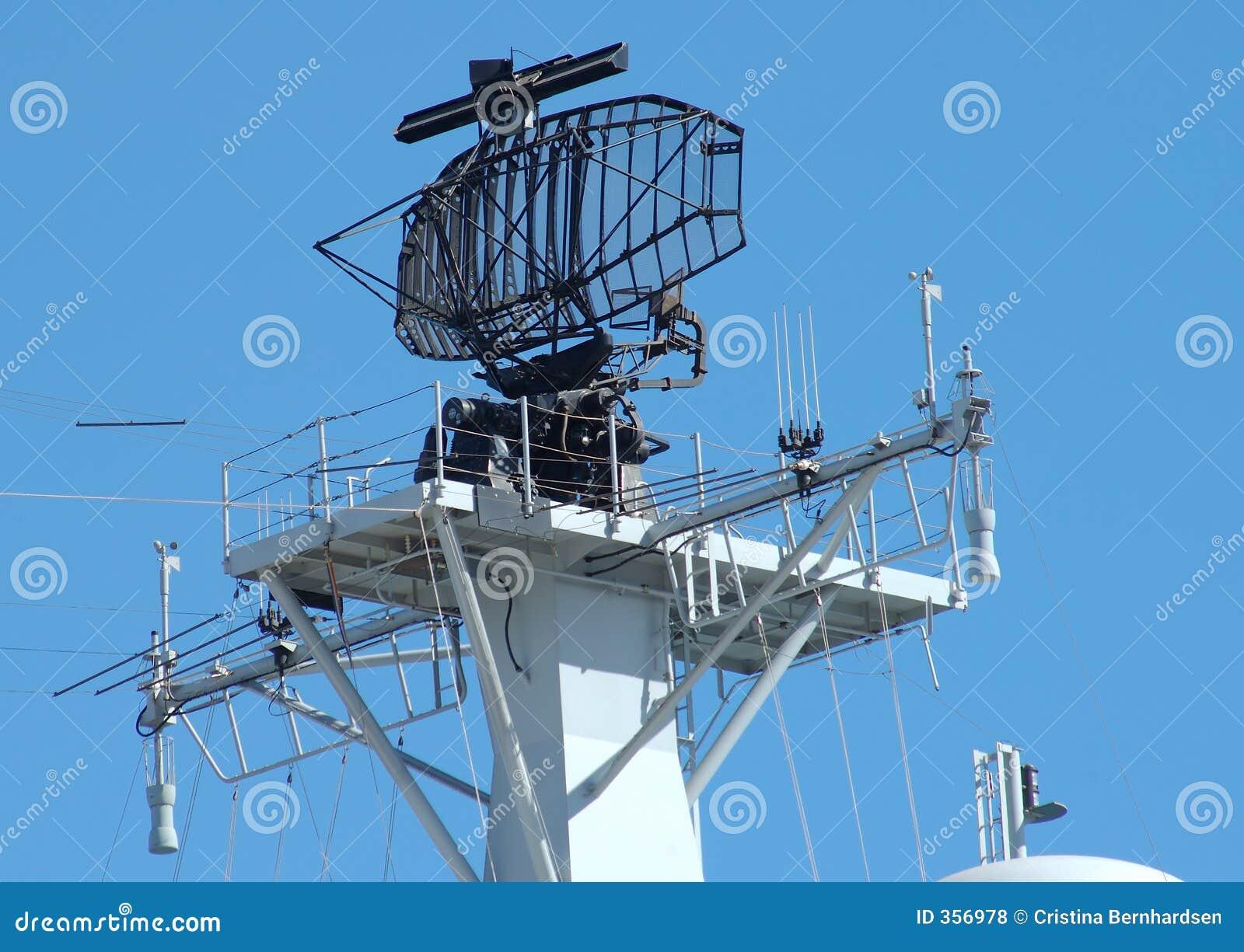 Ship Radar Royalty Free Stock Photos - Image: 356978