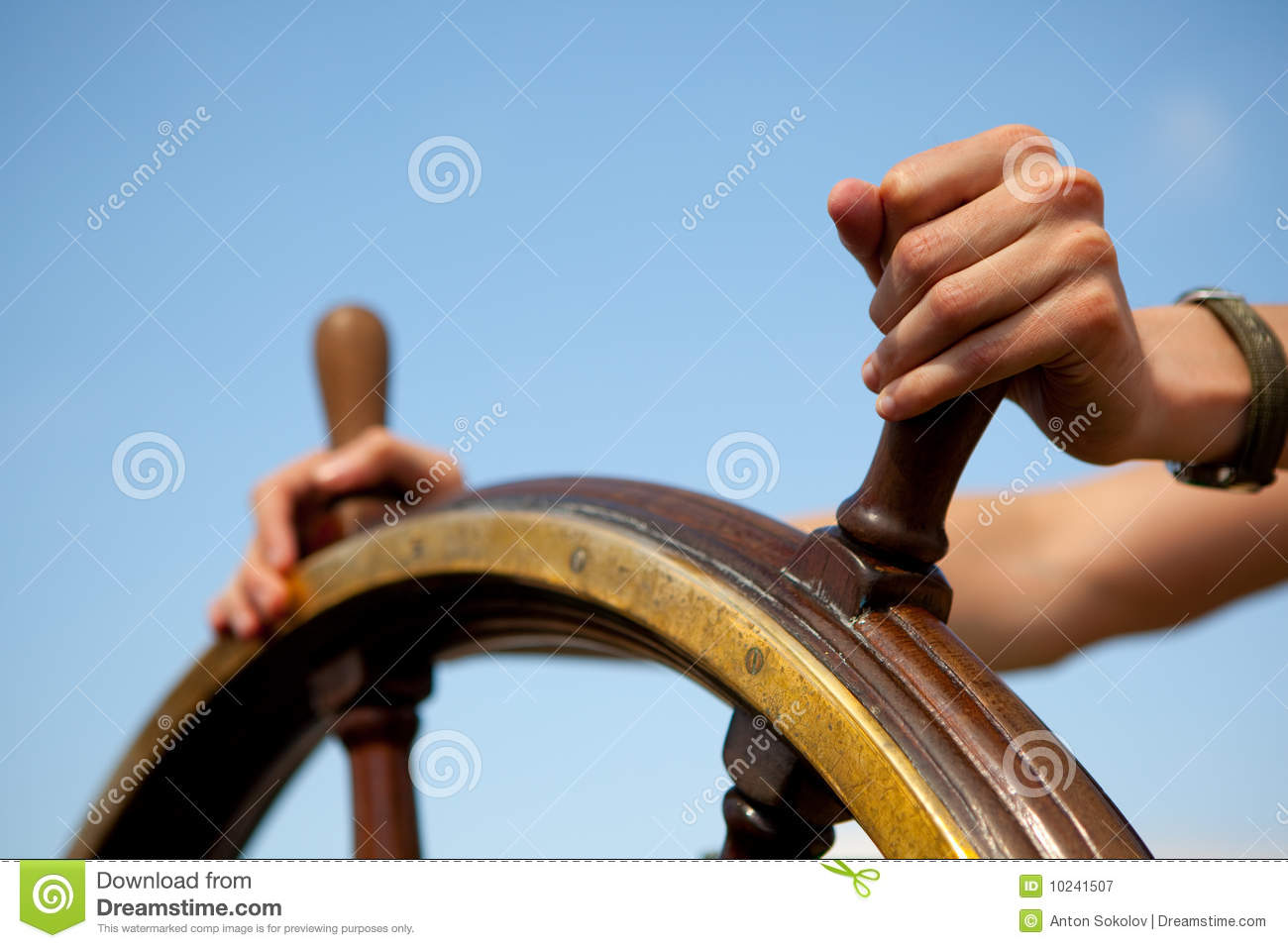 Ship Rudder. Royalty Free Stock Photography - Image: 10241507