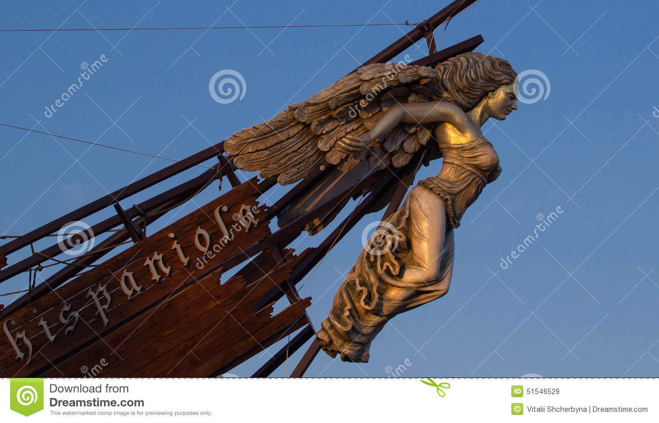 Ships Figurehead Stock Image Of Superstition