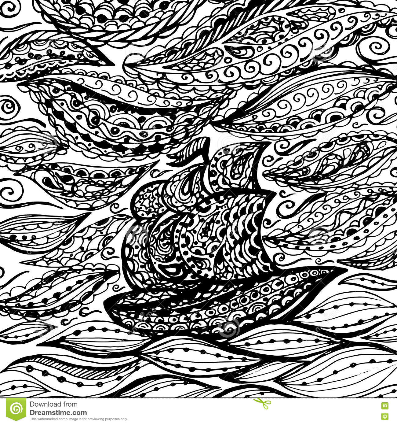 ocean storm coloring pages - photo#24