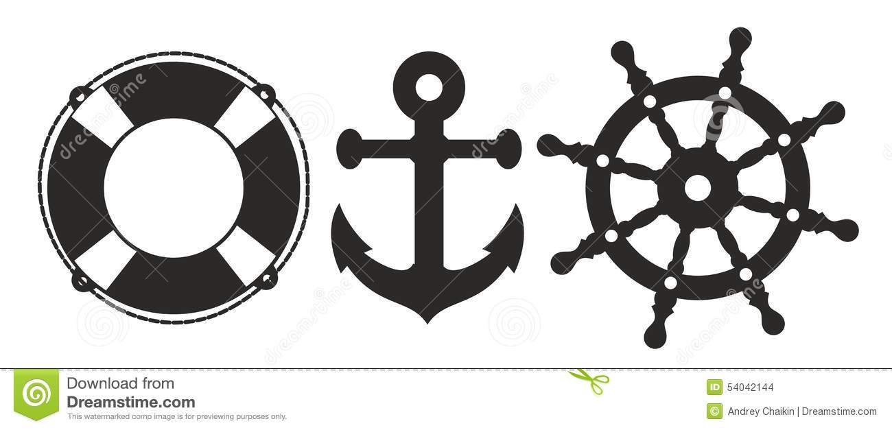 Ship Signs Stock Vector Image 54042144