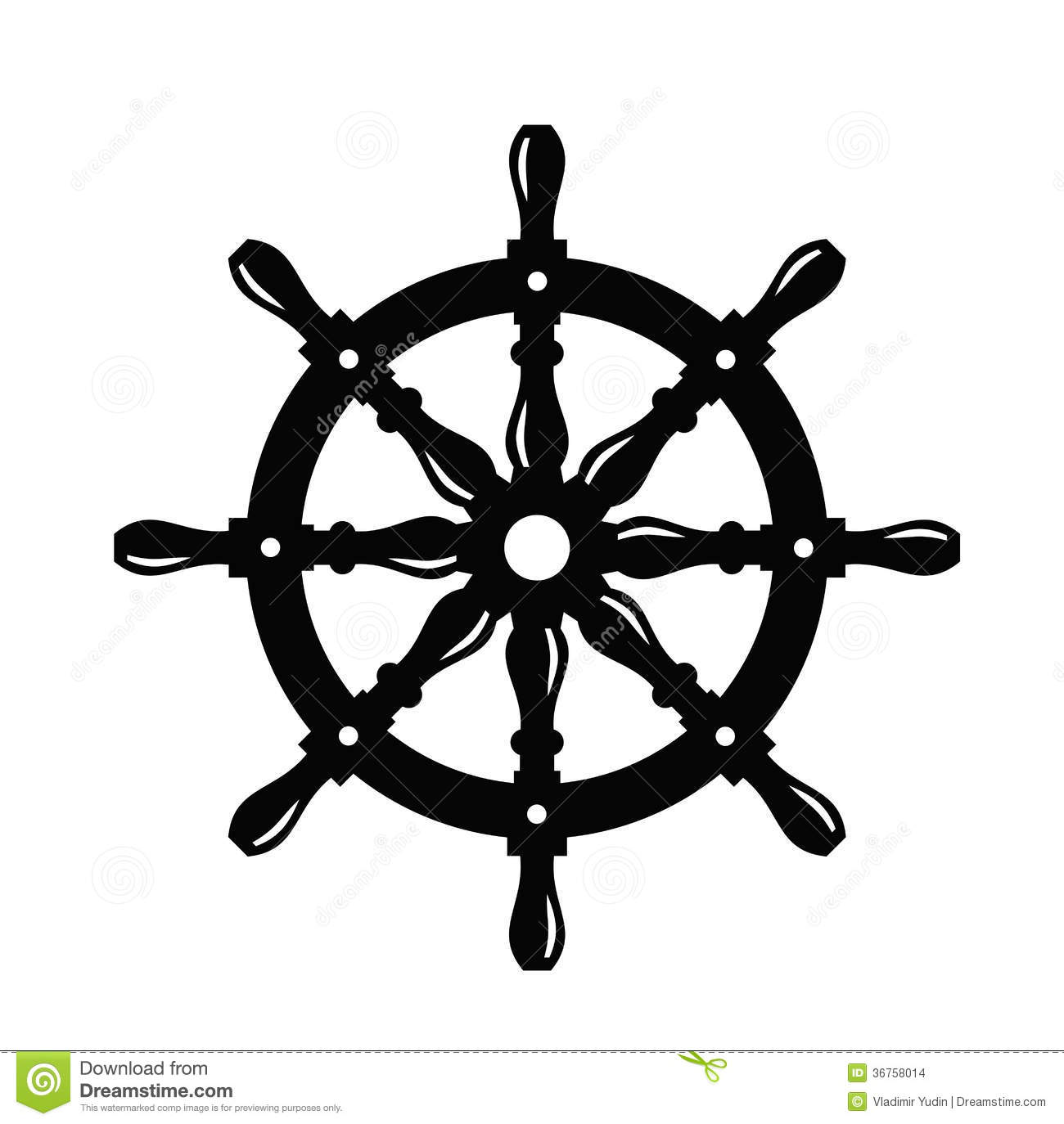 clipart ship steering wheel - photo #48
