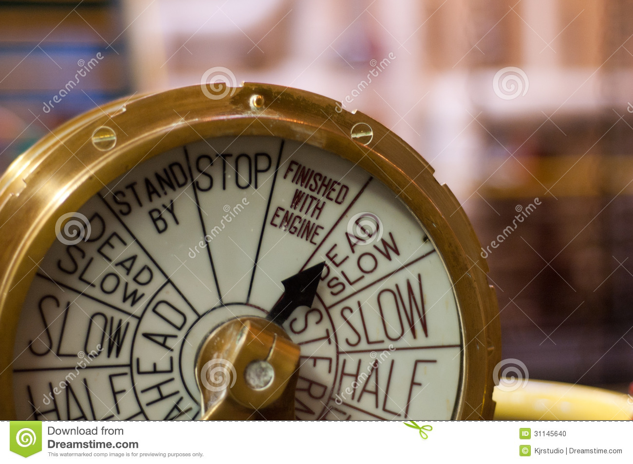 The Room  Brass Dial