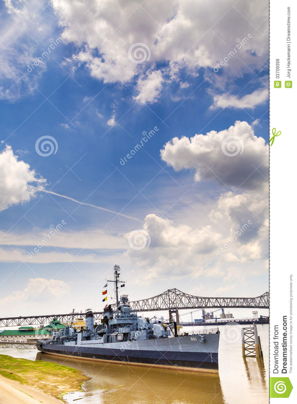 Ship USS Kidd Serves As Museum Editorial Stock Image Image - Ship museums in us
