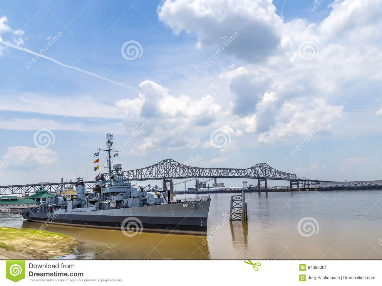 Ship USS Kidd Serves As Museum In Baton Rouge Editorial Photo - Ship museums in us