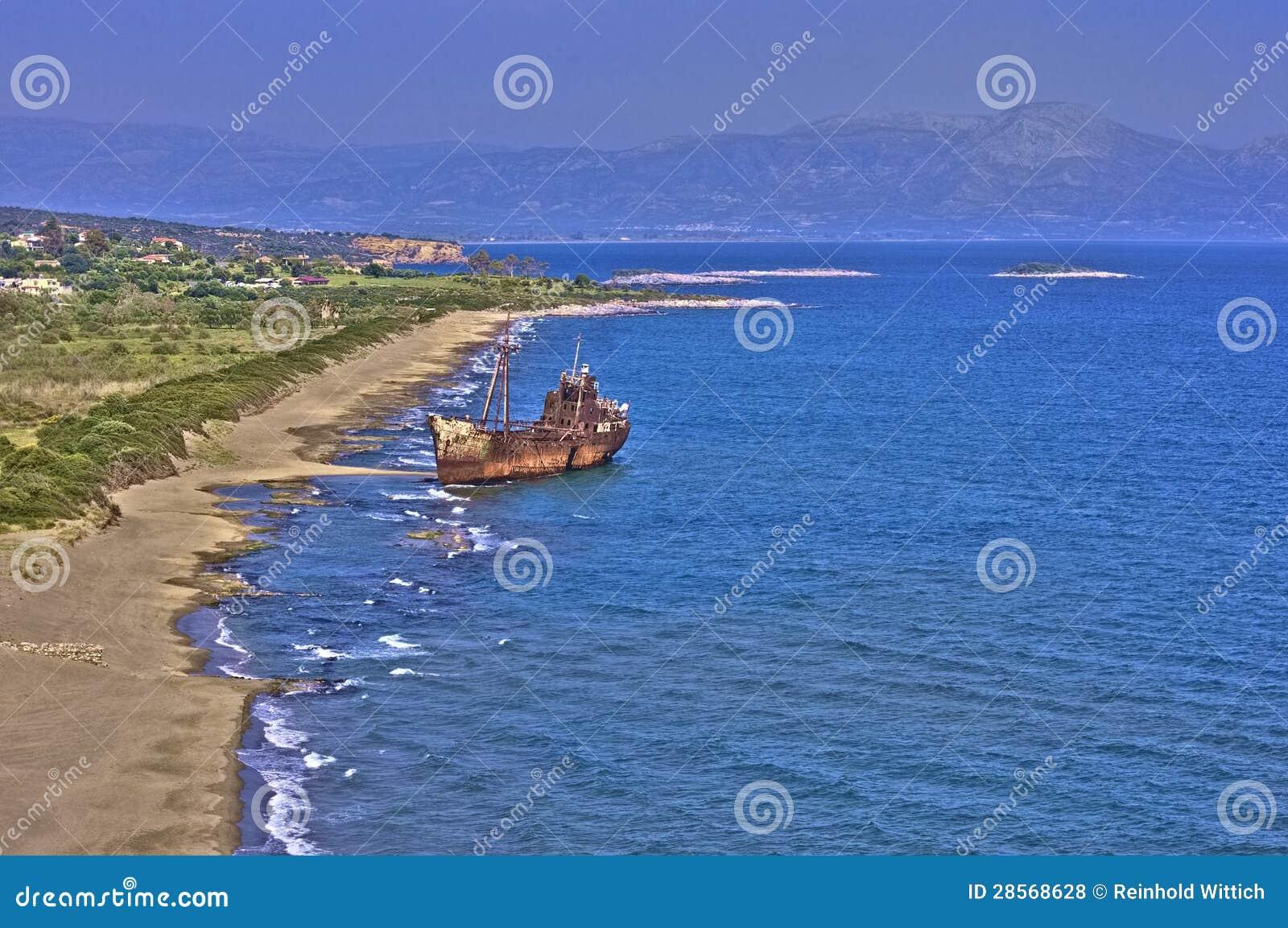 Ship Wreck Gythion