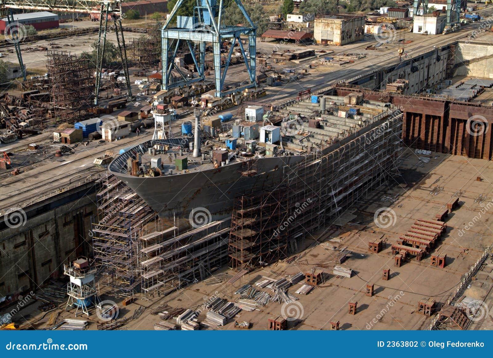 Shipbuilding, ship repair