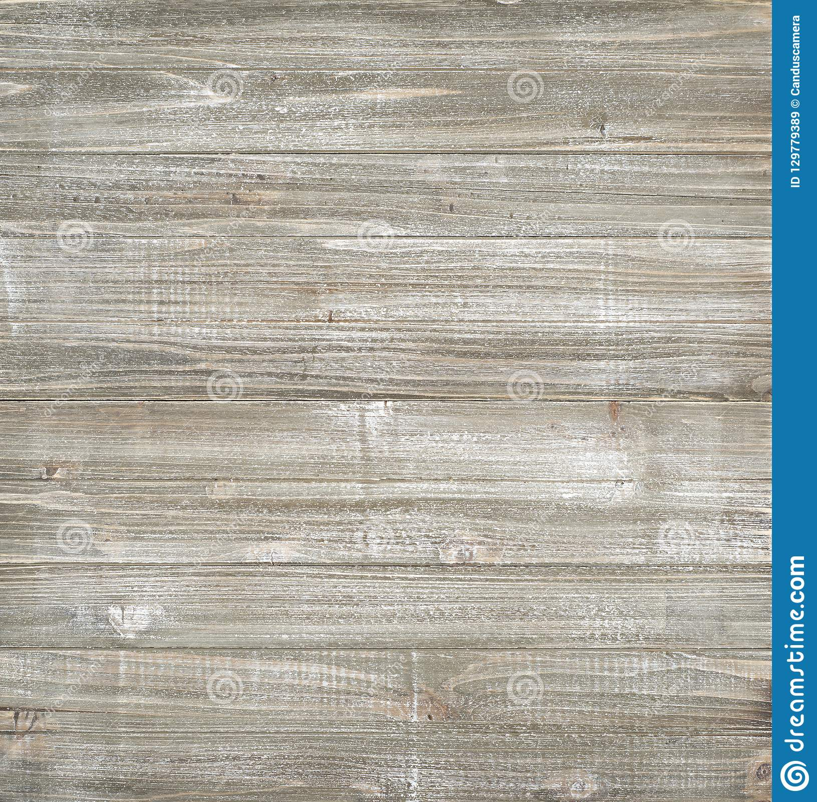 Shiplap Wood Boards Background with brown, white, and grey tones. Almost Square with blank area for your words, text, copy or des