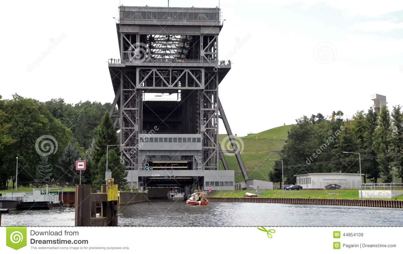 Shiplift Eberswalde Finow Germany Stock Video Video Of Bizarre