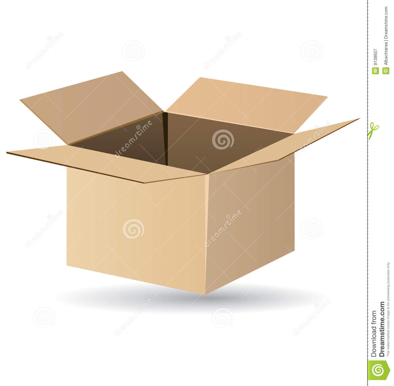 The gallery for --> Shipping Box Vector