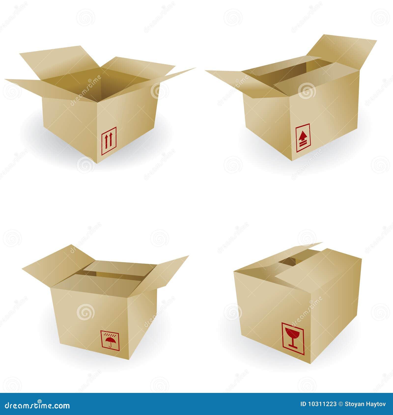Shipping Box Vector Stock Photos - Image: 10311223