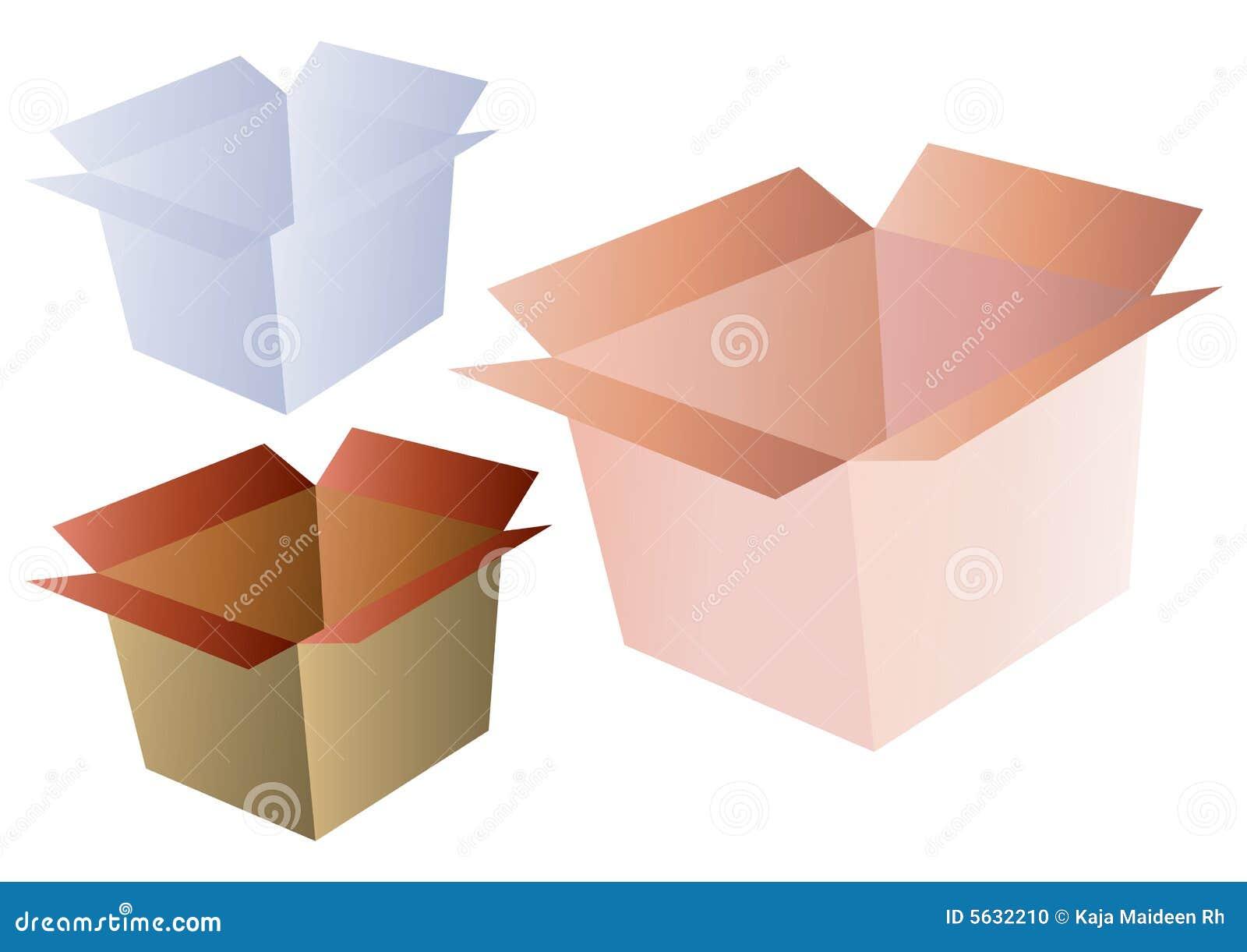 Shipping Box Vector Stock Photo - Image: 5632210