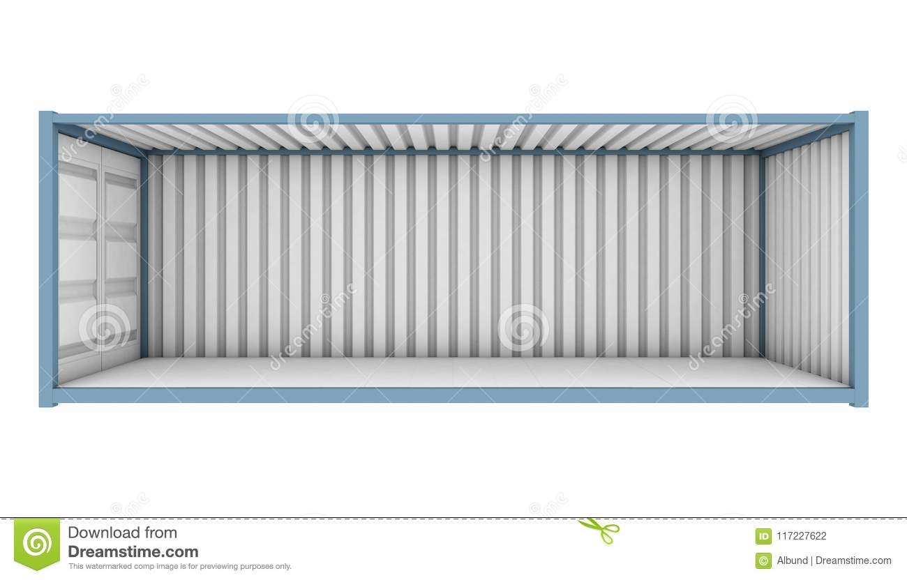 Shipping Container Cutaway