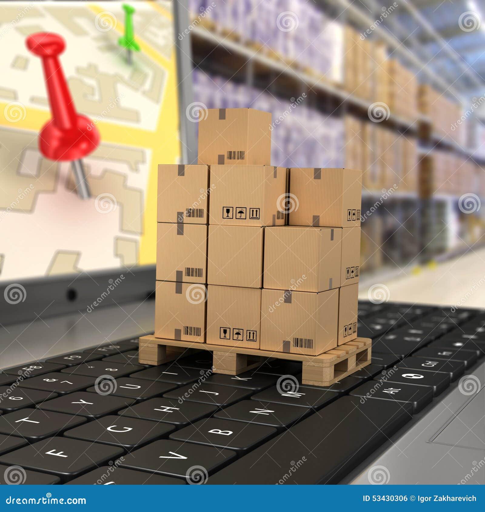 Shipping, Stock Illustration